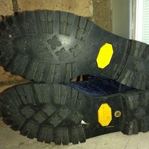 Marc Jacobs Shoes - Marc Jacobs sparkle leather combat boots